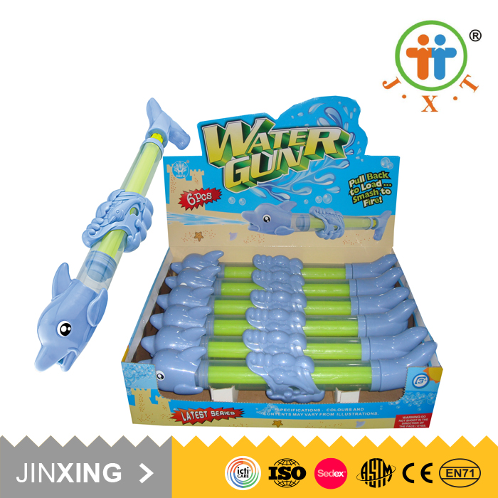 funny cheap summer children dolphin plastic toys professional water guns for sale