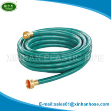 Ningbo high quality very good price 3 layers flexible PVC hose with fiber reinforced for garden and sprayer