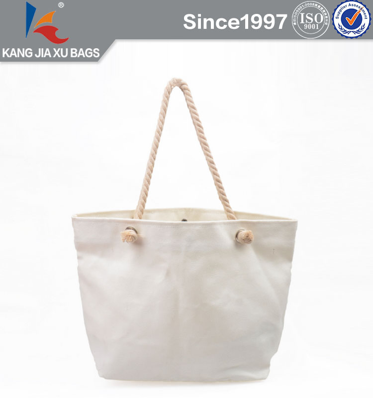 BSCI Durable Waterproof Canvas Woman Tote Bag