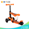 New scooter 3 wheel/CE approved 3 wheel pedal scooter/ride on toys three wheels scooter kids