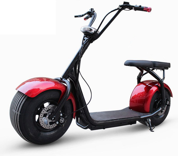 ce/fcc/rohs certification 1000w eec electric scooter fat tires electric scooter newest harley citycoco scooter