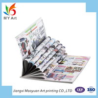 wholesale film lamination cheap magazine OEM commercial printing