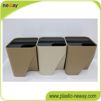 PP high quality home use cheap plastic storage box with interlock lid