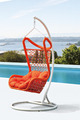 Hot New Products PE Flat Rattan Furniture Weaving Hanging Swing Chair(Y9097)