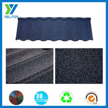 Stone coated steel roofing tile for houses