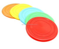Multi-Color Outdoor Training Plastic Frisbee Dog Training Collar
