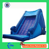 simple blue inflatable floating water slide for pool with cheap price