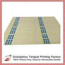 Guangzhou waterproof die cut PVC vinyl sticker and self adhesive custom sticker manufacturer