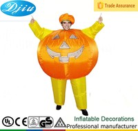 DJ-CQF-036 Pumpkim inflatable costumes for street party