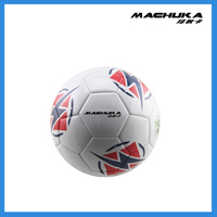 MACHUKA High quality Rubber Machine Sewn Size 5 Offcial Soccer Ball Factory Direct Sale Body Building High Quality Rubber Soccer