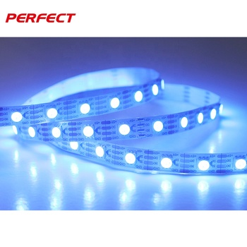 RGB led tape strip waterproof 5 meters 12V magic color digital programmable rgb led strip