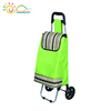 Foldable shopping trolley with seats chair/ trolley carrier