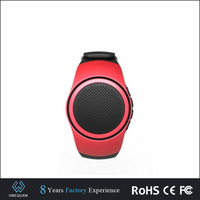 special wireless watch bluetooth speaker with alarm clock