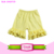2016 Baby clothes baby girls shorts high quality triple ruffles shorts children kids cotton clothing blank infant icing shorts