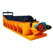 High quality high-weir mineral sand spiral classifier in ore dressing