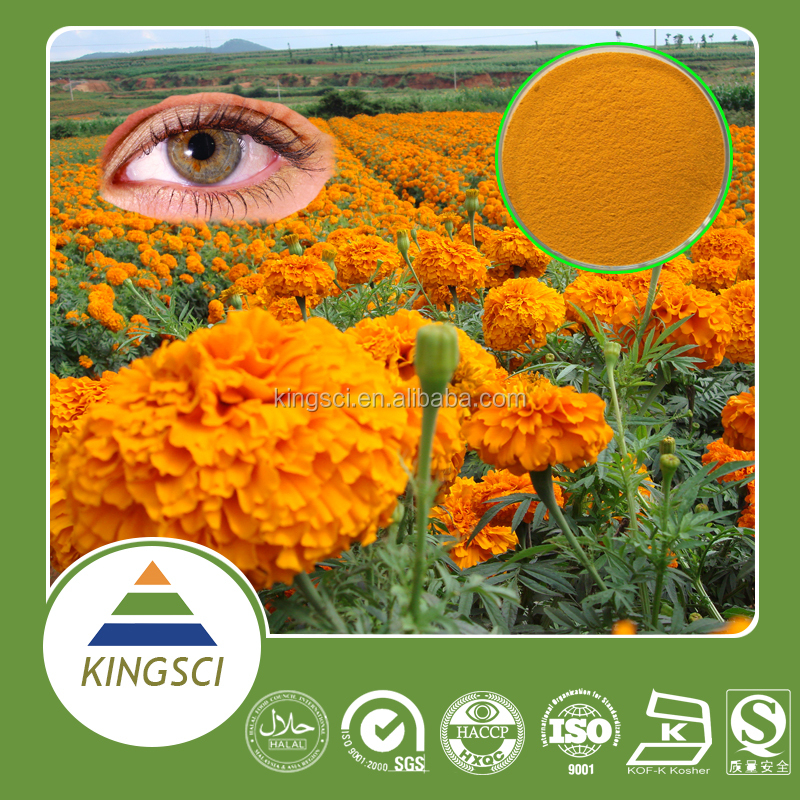 cGMP Factory Supply Food Grade Purity Zeaxanthin 50% HPLC Marigold Extract