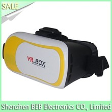 Delicate designed vr headset with screen has low price high quality vr headset