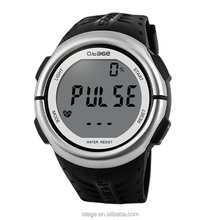 Most Popular Multifunction Dual Time Zone Sport Pluse Heart Rate Measure Watch