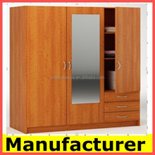 new wooden laminated plywood wardrobe designs from China price