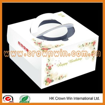 Paper cup cake box