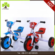Wholesale Children Trike Cheap Baby Tricycle Kids Tricycle Balance Bike For Kid Double Tricycles for Children with trailers