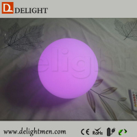 Outdoor Christmas Battery Color Changing Moon LED Light Growing Ball
