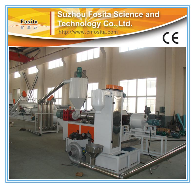 Good after sale service plastic recycling & pelletizing machines with Customize made