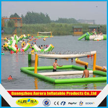2014 New product inflatable water volleyball court