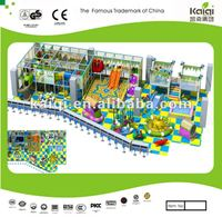 Updated KAIQI newest design for kids club/indoor soft play/big playground