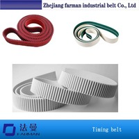 Polyurethane Cord Timing Belt With Green Fabric
