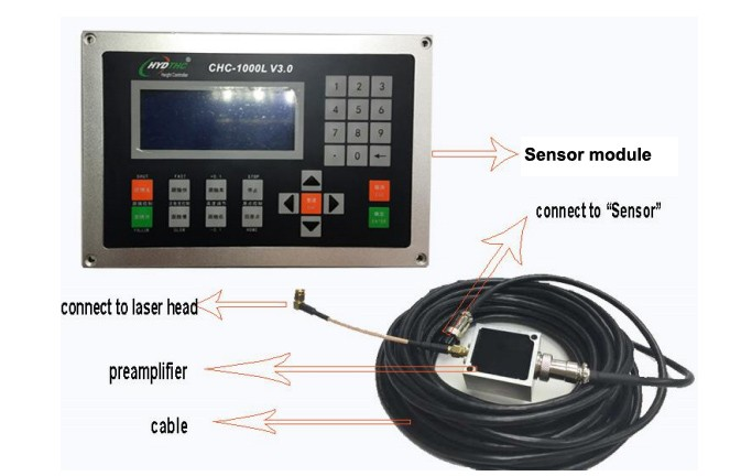 Hot selling Laser auto focus system laser torch height controller CHC-1000L