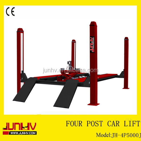 Four post car lift for sale used 13