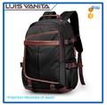 Wholesale Polyester Black Custom Backpack