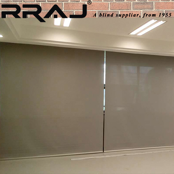 RRAJ Electric Window Roller Curtain Home Solar Blinds or Office Sunshade