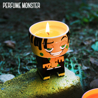 [Perfume Monster] Art toy candle Cheese zomb character design ceramic candle Natural candle