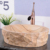 China supplier shell oval shape sandstone natural bathroom wash basins sinks