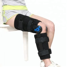 Medical knee strap brace fixed support for plus size
