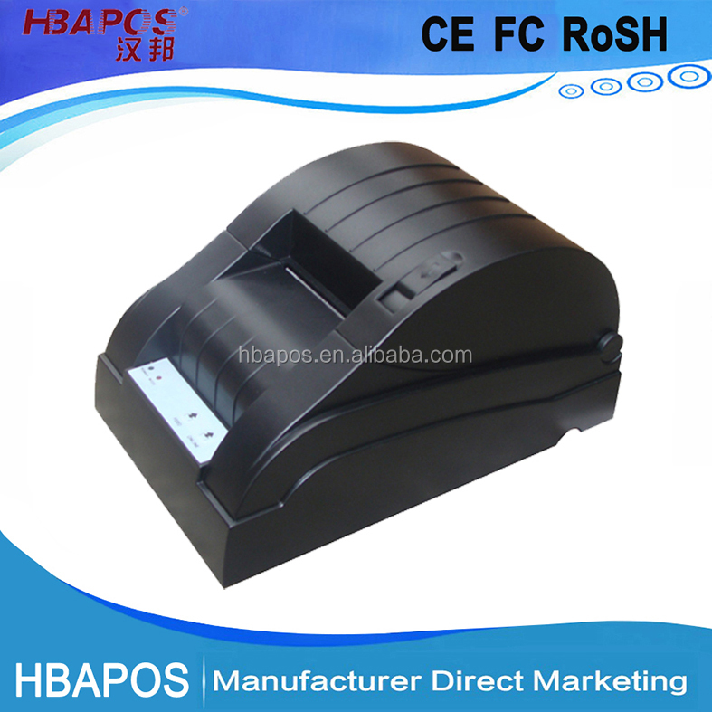 HBA-5890D thermal pos printer , 58 thermal receipt printer