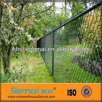 Low Price Galvanzied And PVC Coated Used Chain Link Fence For Sale