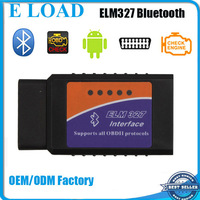 Professional ELM327 Interface Bluetooth OBD2 / OBD II Auto Car Diagnostic Scanner