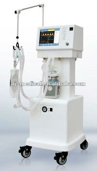 ICU Ventilator AJ-2208 with Air Compressor