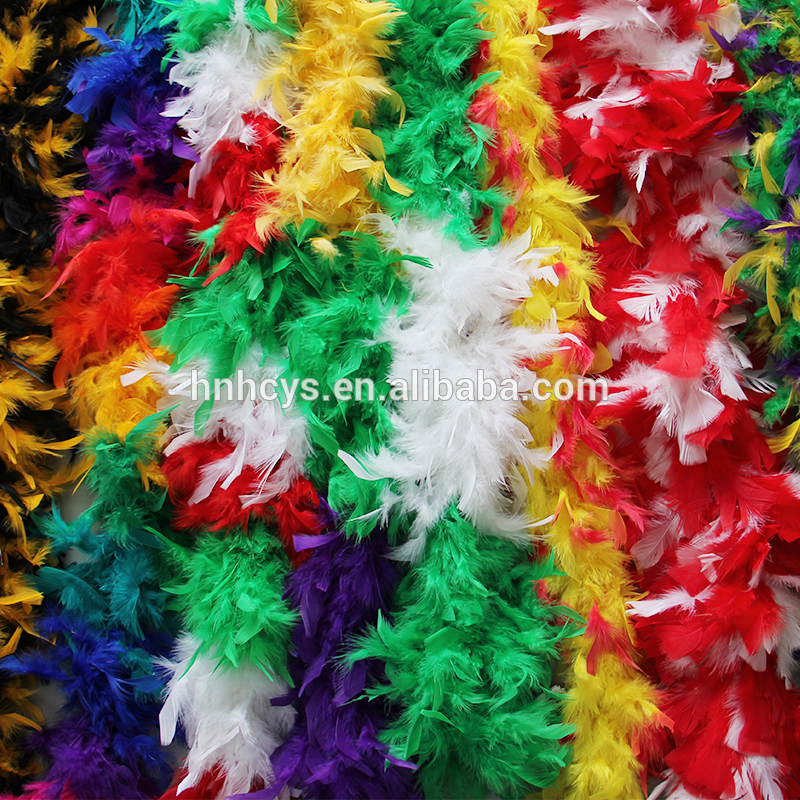 Economic and Reliable Turkey Feather Boa Decorations With Good After-sale Service