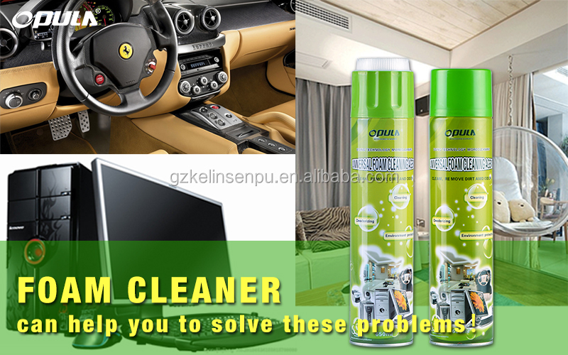 Wholesale effectively office desks chairs cleaner and conditioner spray foam cleaner