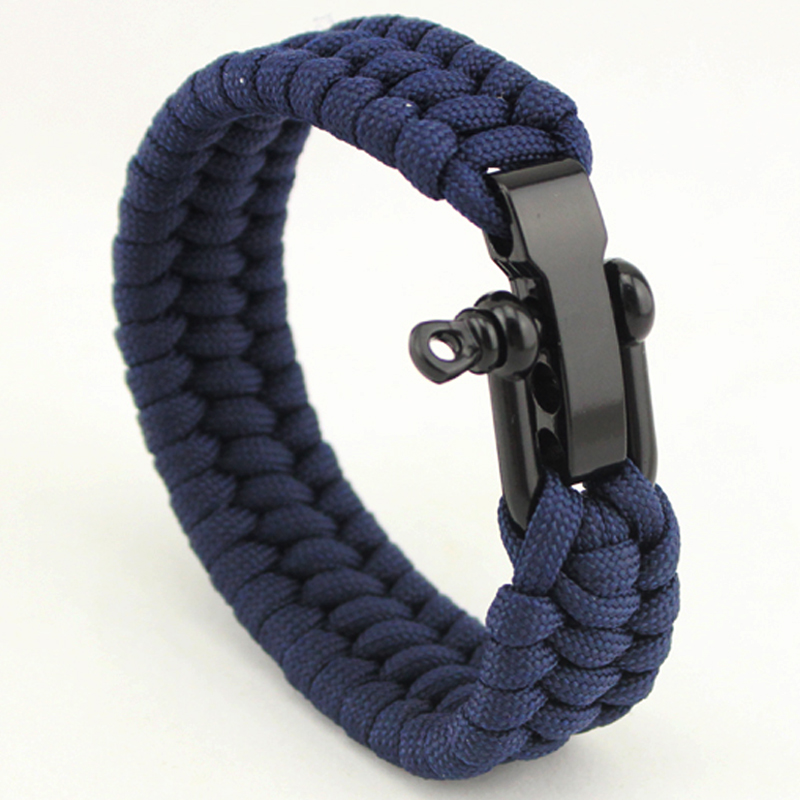 promotion cheap 550 survival paracord key chain