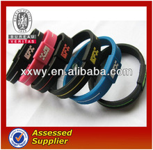 promotional gifts silicone bracelet silicone wristband