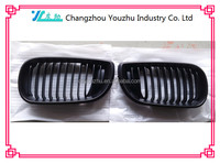 AUTO BODY PARTS BLACK CAR GRILLE FOR BMW E46 01-04