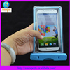 Hot safest waterproof phone case PVC waterproof bag for summer can shin in the dark