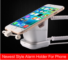 universal cell phone and tablet security display anti-theft alarm Usage mobile phone table holder stand with charger
