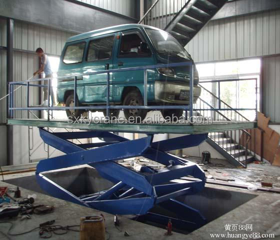 Heavy duty 5 ton hydraulic scissor lift/car lifter with best price
