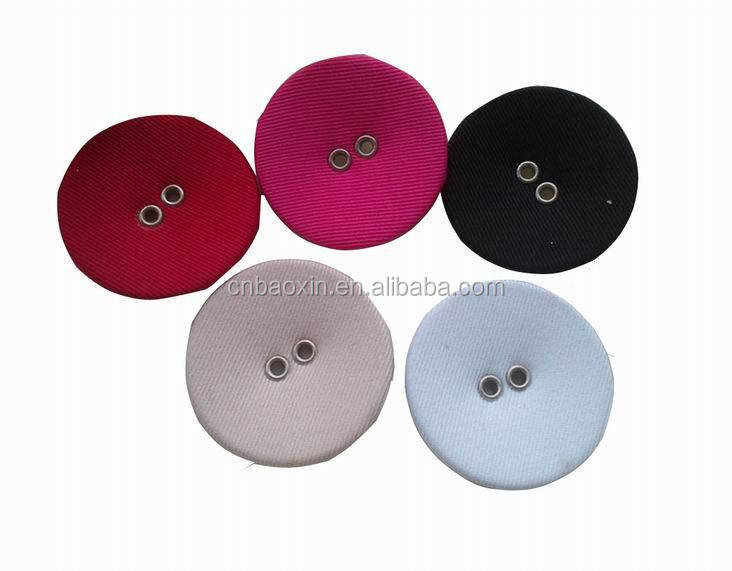 2 Holes cloth covered button for garment